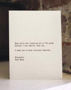 Dear Girls