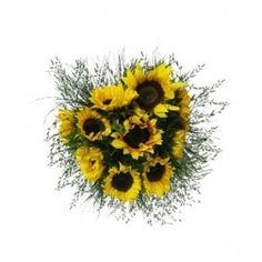 Sunflowers--could you pick a flower more perfect for an outdoor wedding?