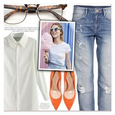 """""""Chill Out"""" by lucky-1990 ❤ liked on Polyvore featuring H&M, Gianvito Rossi and Sinclair"""