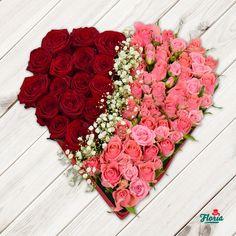 Inima+din+trandafiri+rosii+si+roz.+Vrei+sa-i+dezvalui+iubirea,+dar+in+acelasi+timp+sa-i+starnesti+pasiunea?+Daruieste-i+o+inima+din+trandafiri+rosii+si+roz!+Un+aranjament+ce+combina+sentimentele+de+dragoste+arzande+cu+cele+de+respect+si+prietenie.+    Aranjamentul+floral+contine+16+trandafiri+rosii,+25+minirosa+roz,+gypsophilla+si+un+suport+de+burete+in+forma+de+inima.