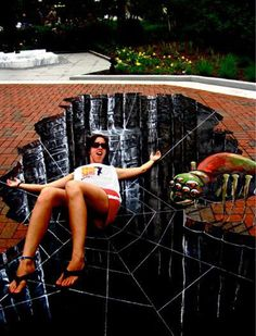 3D street Art..so crazy..