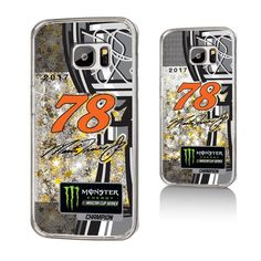#BFCM #CyberMonday #Fanatics.com - #Strategic Printing Martin Truex Jr 2017 Monster Energy NASCAR Cup Series Champions Gold Glitter Galaxy S7 Case - AdoreWe.com