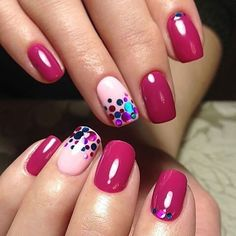 Nails play an important role in a woman's appearance. When Giving your nails makeup for Summer, most women will have a hard time choosing which shape of nails to make. Must Try Nail Designs For Short Nails 2019 Summer Fancy Nails, Trendy Nails, Cute Nails, My Nails, Nail Lacquer, Nail Polish, Dark Nails, Long Nails, Short Nails