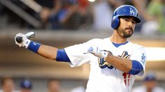 Andre Ethier placed on Dodgers' playoff roster