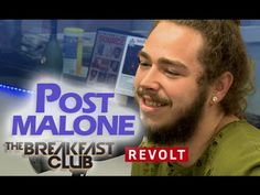 Post Malone at The Breakfast Club   Talks White Iverson, Is He A Culture...