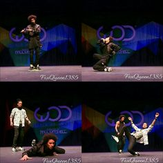 Les Twins at World Of Dance.