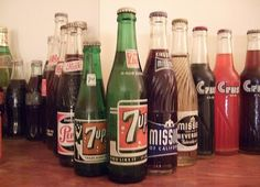 Soda in the 1960's...we called it POP