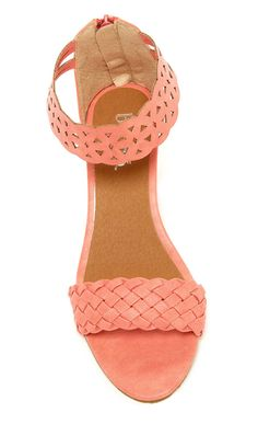 What a pretty color! Sandals, summer, shoes, fashion