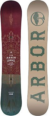 $399.95 - Arbor Cadence Snowboard - Women's - Free Shipping! Great Customer Service! - Arbor Cadence Snowboard - Women's: The Cadence is a freestyle oriented snowboard for women who ride all–mou