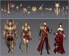 New armor and weapons, Aion 5.0  Nuevas armas y armaduras de la Aion 5.0