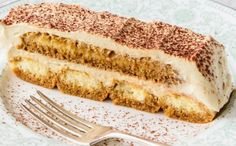 This beautifully rich Healthy Tiramisu Cake will have you feeling like you& cheating your diet! We& created this yummy and healthy version of a classic. Healthy Mummy Recipes, Healthy Baking, Sweet Recipes, Cake Recipes, Dessert Recipes, Healthy Sweets, Healthy Snacks, Tiramisu Recipe, Tiramisu Cake