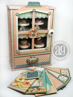 Annette's Creative Journey: Cafe Parisian Bakery Shoppe Sweets