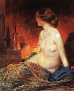 By the Fireside, Guy Rose (3 March 1867–17 November 1925) was an American Impressionist painter who is recognized as one of California's top impressionist painters of the late 19th and early 20th centuries.