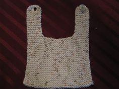 Chris Knits in Niagara: Quick Knit Baby Bib