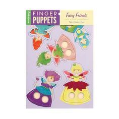 for puppet stage, come in all sorts, animals, pirates, princesses. Stocking stuffer for the big kids.