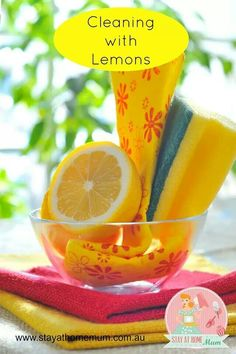 Lemons natural and smell great