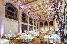 – Host your wedding at One King West. The Grand Banking Hall in our Toronto hotel is a historic space that is ideal for large ceremonies. Wedding Movies, Wedding Dj, Wedding Events, Dream Wedding, One King West, Toronto Hotels, Wedding Venues Toronto, Outdoor Venues, Ontario