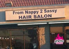 Nappy hair salon