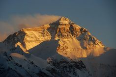 Mount Everest - Not to the top, just to base camp :)
