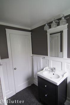 Queen Anne Bath: The Result   IKEA Hemnes Vanity