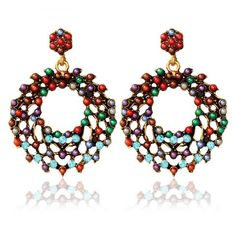 GET $50 NOW | Join RoseGal: Get YOUR $50 NOW!http://www.rosegal.com/earrings/pair-of-vintage-rhinestone-beads-round-earrings-for-women-525601.html?seid=6654463rg525601