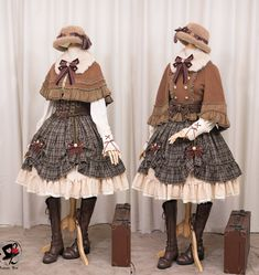 LolitaWardtobe - Bring You the latest Lolita dresses, coats, shoes, bags etc from Trustworthy Taobao indie Brands. We never resell Lolita items from untrustworthy Taobao stores. Harajuku Fashion, Kawaii Fashion, Lolita Fashion, Cute Fashion, Fashion Outfits, Mode Lolita, Mode Alternative, Lolita Cosplay, Kawaii Clothes