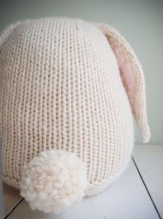 Whit's Knits: Big Cuddly Bunny