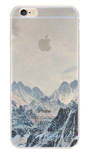 Coque iphone 6 , Fantacycy Coque iPhone [ Liquid Crystal ] Housse Etui TPU Silicone Clair Transparente Ultra Mince Premium Semi-…