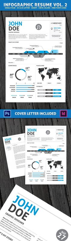 infographic cv resume curriculum vitae example of an info graphic resume sometimes being creative can get you hired