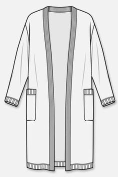 Long cardigans.