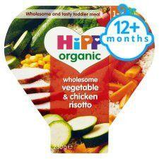 Hipp 12 Months+ Organic Vegetable&Chicken Risotto 260g