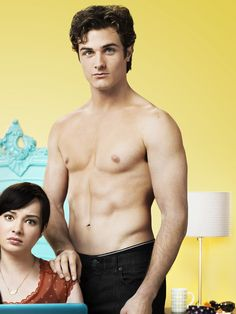 Beau Mirchoff Shirtless in Awkward