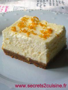 Gâteau au fromage blanc. Rien de plus délicieux qu'un gâteau léger, aérien à base de fromage blanc et aux senteurs d'agrumes : vous allez adorer ce dessert qui se déguste frais. Ingrédients pour 8 personnes : 200 g de Spéculoos, 40 g de beurre mou, 600...