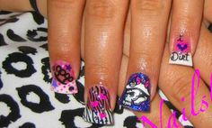 these will be my next nails. but diff colors