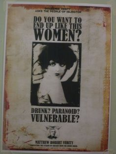 Drunk? Paranoid? Vulnerable?