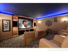 A cool home theater. Minnetonka, MN Coldwell Banker Burnet