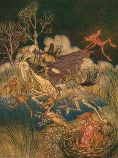 The Legend of Sleepy Hollow By Washington Irving  Illustrated by Arthur Rackham