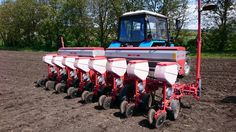 KISRAK Series Double Disc Pneumatic Planter 8 Rows