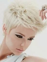Image result for short platinum hair