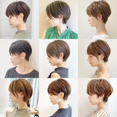 Japanese Short Hair, Asian Short Hair, Japanese Hairstyle, Short Haircut Styles, Cute Short Haircuts, Girl Haircuts, Medium Hair Cuts, Short Hair Cuts, Medium Hair Styles
