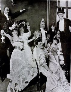 New Year's in the Edwardian era, 1900s