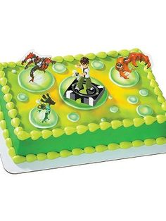Ben 10 cake toppers!