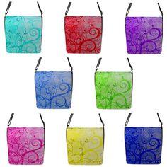 """""""Swirls"""" Chameleon Removable Flap Shoulder Bag (Petite) Chameleon, Swirls, Shoulder Bags, Take That, Ebay, Crossbody Bag, Shoulder Bag"""