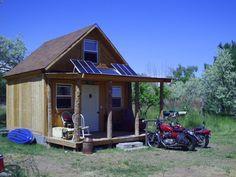 Near Self-Sufficient Summer Cabin