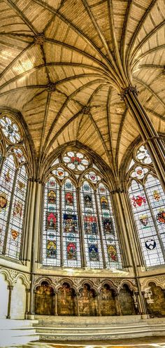 Chapter House, Westminster Abbey, London