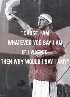 Eminem-The Way I Am lyric quote slim shady eminem d12 marshall mathers
