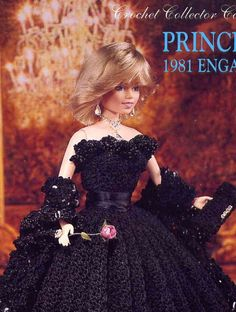 #barbie #vintage #ball #gown #wedding #diana