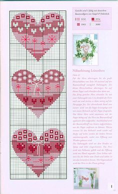 ru / Photos n ° 14 - 64 - Viki-Kitti Cross Stitch Needles, Cross Stitch Heart, Cross Stitch Cards, Cross Stitching, Cross Stitch Embroidery, Hand Embroidery, Wedding Cross Stitch Patterns, Cross Stitch Designs, Ladder Stitch