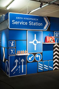 anya hindmarch selfridges car station