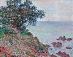 Mediteranian Coast, Grey Day 1888 Claude Monet